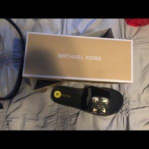 brand new Michael Kors slides